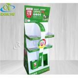 空气清新剂纸货架日用品纸展示架超市促销陈列架厂家设计生产